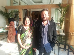 Dr. Shelly with Shekhar Kapoor